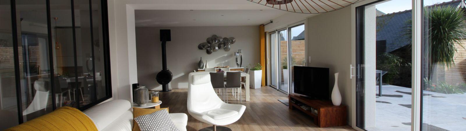 photo 2: Superbe maison d'architecte à 800 mètres des plages